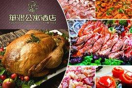 海鲜+刺身+热菜+凉菜+烧烤+寿司+煎炸+甜品!自助菜品种类齐