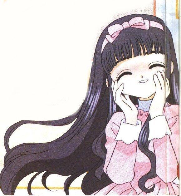 蝴蝶结发夹小女孩卡通动漫头像