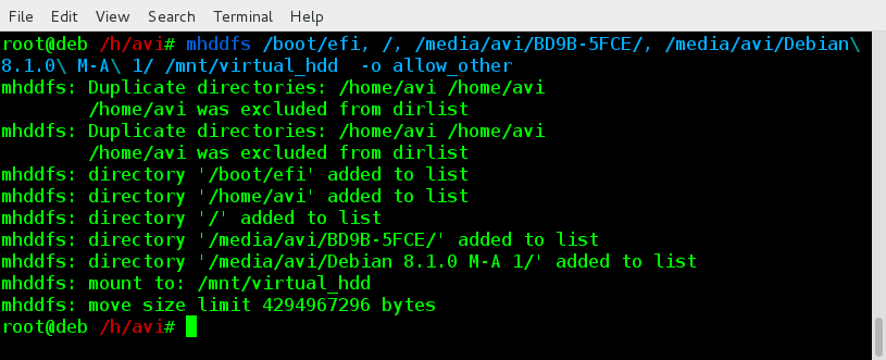 Mount All File System in Linux