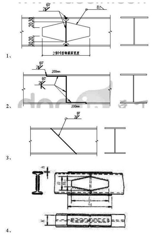 �yf�y..���z(���.X��h_h型钢z型对接方法图集_h型钢桁架节点图集