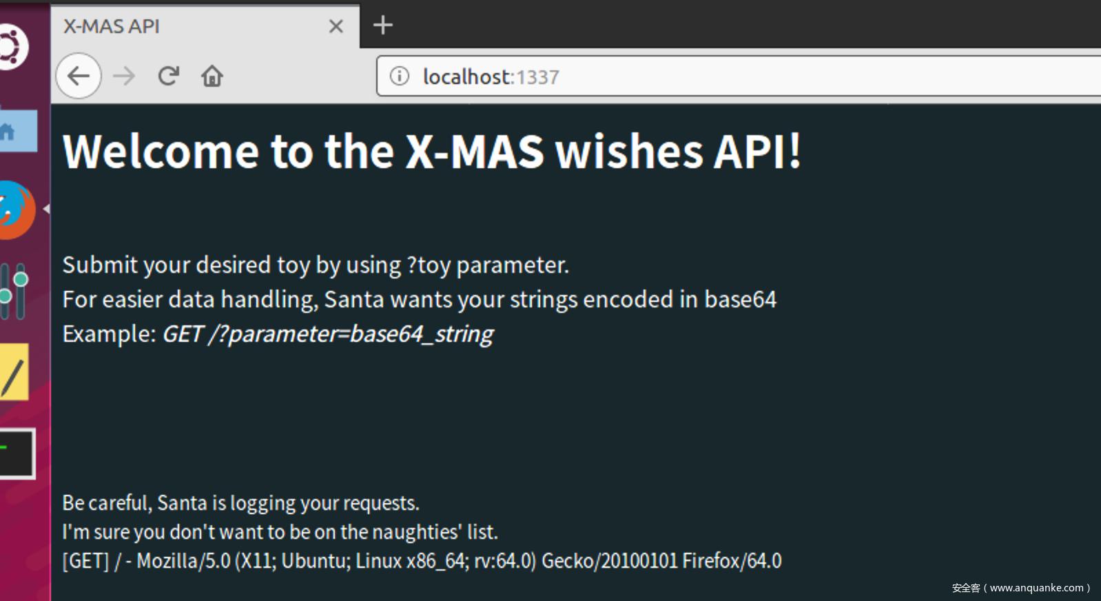 圣诞前夕X-MAS CTF一道有趣的web+pwn - 安全客,安全资讯平台