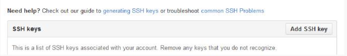 点击Add key