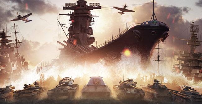 360联运发布会-坦克世界 战舰世界年内更新