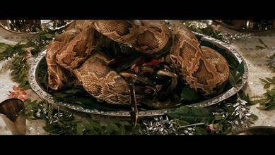 大蛇吃人事件_一大群人围着桌子吃恐怖大餐是什么电影?