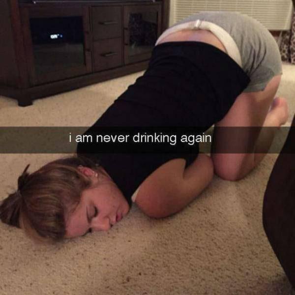 外國網友分享醉酒囧照 搞笑畫面讓人無法直視